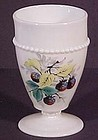 Westmoreland Fruit Beaded Edge Black Berry Tumbler