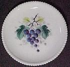 "Westmoreland Fruits Beaded Edge, Grape 7"" Plate"