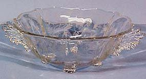"Fostoria Chintz Handled 10.5"" Bowl"
