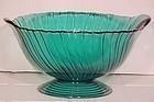 """Jeannette Ultramarine Swirl 10"""" Bowl"""