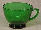 Round Forest Green Cups -- generic brand