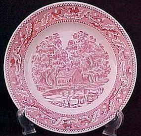 "Memory Lane Royal Ironstone 10"" Dinner Plate"