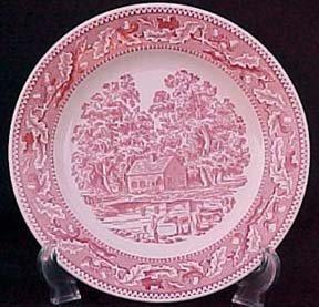 """Memory Lane Royal Ironstone 10"""" Dinner Plate"""