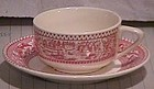 Memory Lane Royal Ironstone Cup & Saucer