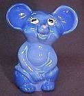 Fenton NFGS 2009 Mouse Souvenir Periwinkle Blue