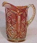 Imperial Star & File Carnival Water Pitcher