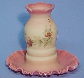 Fenton Burmese Maple Leaf 1 pc Fairy Light