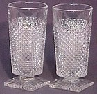 Westmoreland Crystal English Hobnail 11 oz. Footed Iced Tea