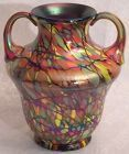 Fenton New Mosaic Squat Vase, 6""