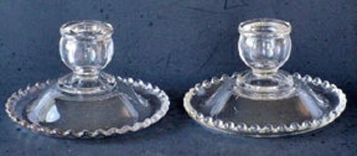 Imperial Candlewick Single Candlesticks