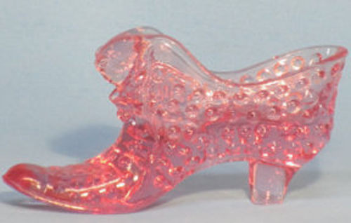 Fenton Dusty Rose Hobnail Slipper
