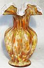 """Fenton Vasa Murrhina Autumnal 8"""" Vase"""