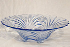 "Cambridge Caprice Blue 13"" Flared Bowl"