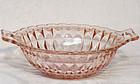 "Jeannette Windsor Diamond Pink 9"" Bowl"