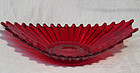 Fostoria Red Heirloom Tray - Dish