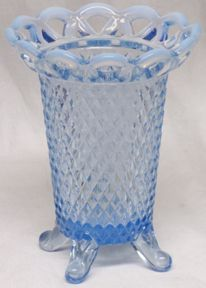 "Imperial Katy Blue 5"" Vase (Open Lace)"