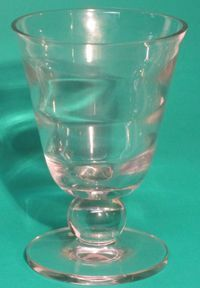 "Tiffin Crystal 7"" Vase"