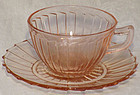 Jeannette Sierra Pink Cup & Saucer