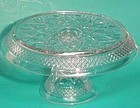 Imperial Cape Cod Round Cake Stand