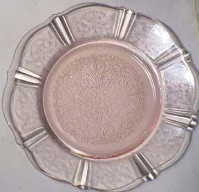 """MacBeth-Evans American Pink Sweetheart 6"""" Plate"""