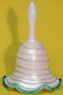 Fenton Teal Crest/Striped Bell