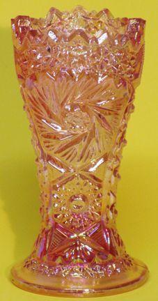 "LG Wright Pink 6.5"" Vase"