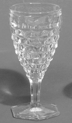 """Fostoria American 7"""" Water Goblet"""