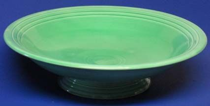 "Fiesta Green Skirted 12"" Wide Bowl"