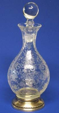 Cambridge Chantilly Etched Decanter, 3400