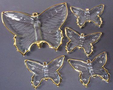 Jeannette Butterfly Smoking Set