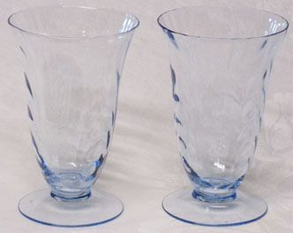 Cambridge Caprice Ice Tea Tumblers