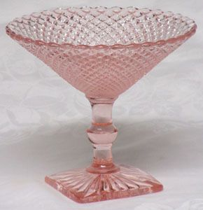 Hocking Miss America Compote, Pink