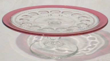 Indiana King's Crown Cake Stand