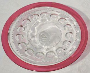 """Indiana King's Crown Luncheon Plate, 8.3"""""""