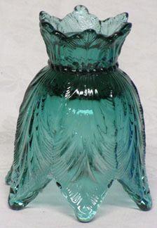 Fenton Spruce Green Votive/Candlestick
