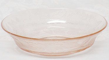 "MacBeth-Evans Pink Dogwood 5.5"" Cereal Bowl"