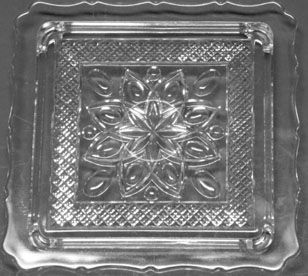 Imperial Cape Cod Square Cake Plate