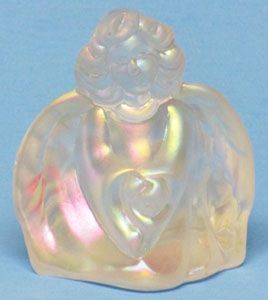 Fenton Frosted Mist Angel