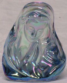 Fenton Votive Ice Blue, Madonna