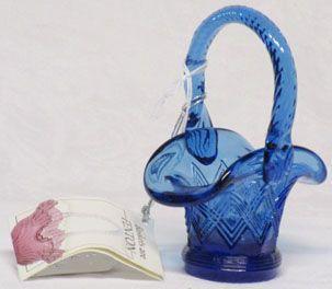 Fenton Royal Blue Mini-Basket