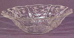 "Fostoria Chintz 12"" Round Flared Bowl"