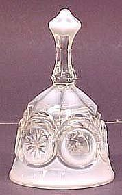 Fenton French Opalescent Bell (Knobby Bull's Eye)