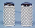 Fenton Milkglass Hobnail Shakers (large)