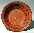 Mixtec Polychrome Plate
