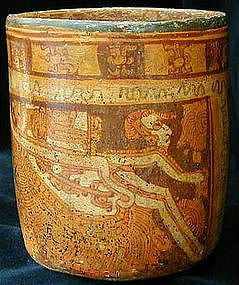 Mayan Angel Cylinder