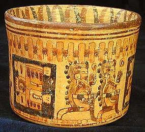 Mayan Polychrome Jar