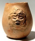 Maya Deity Jar
