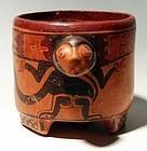 Maya Monkey Jar