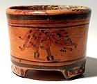 Maya Tripod Jar