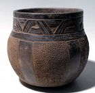 Maya Carved Vessel